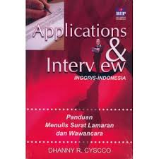 Applications and Interview Inggris-Indonesia